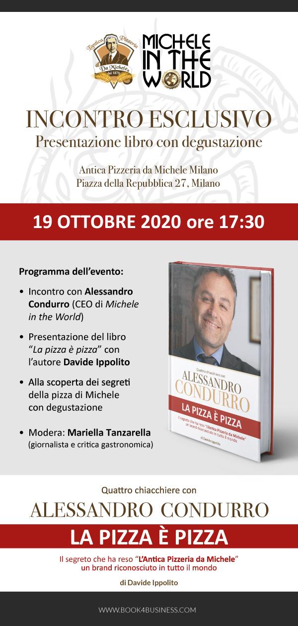"""Libro e degustazione """"La pizza è pizza"""" a Milano, ne l'Antica Pizzeria da  Michele. - Sapori Condivisi"""